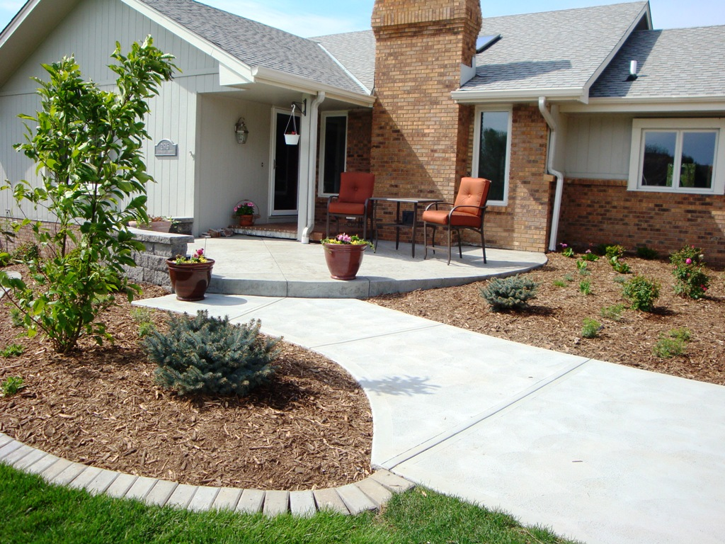 Stamped-Concrete-entry