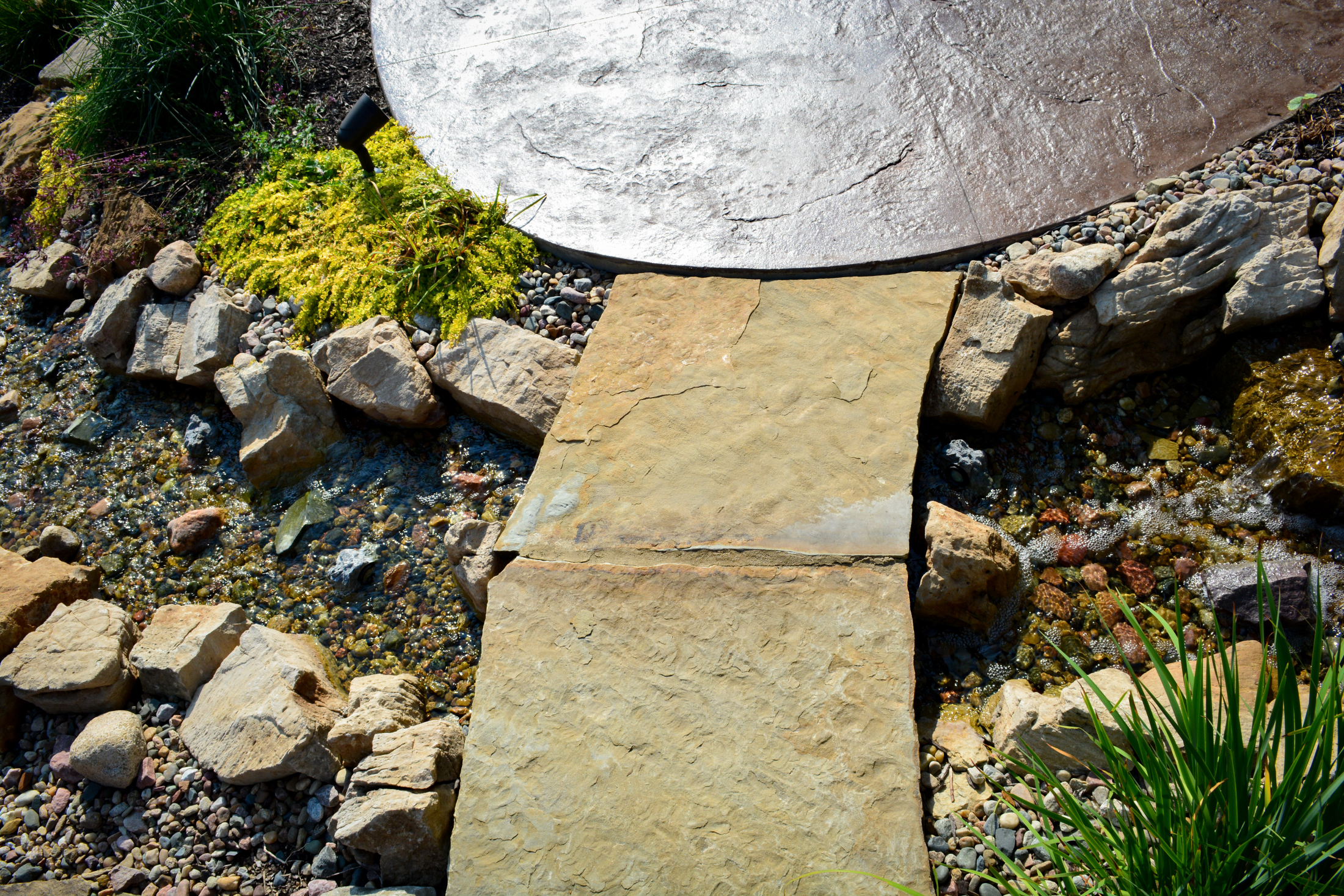 Flagstone-to-Stamped-Concrete