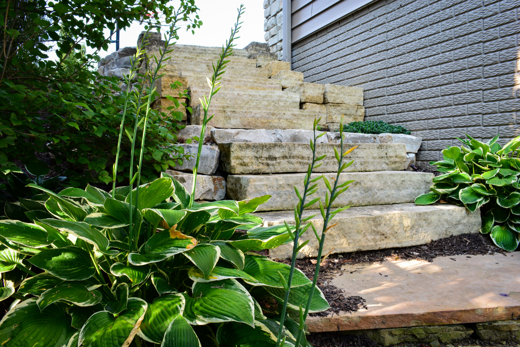 ... Natural Stone Stairs 2 ...