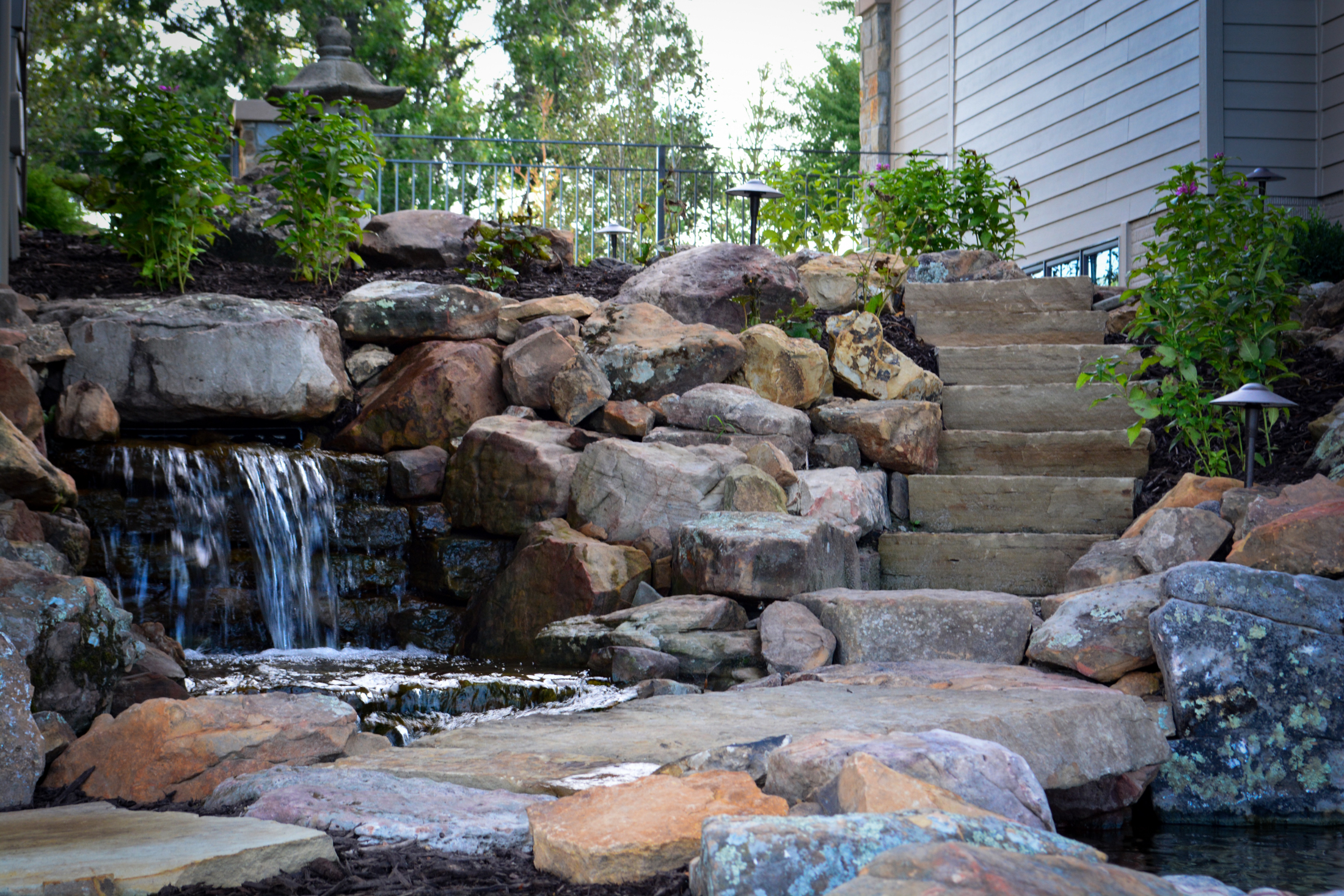 Water-Feature-Strairs