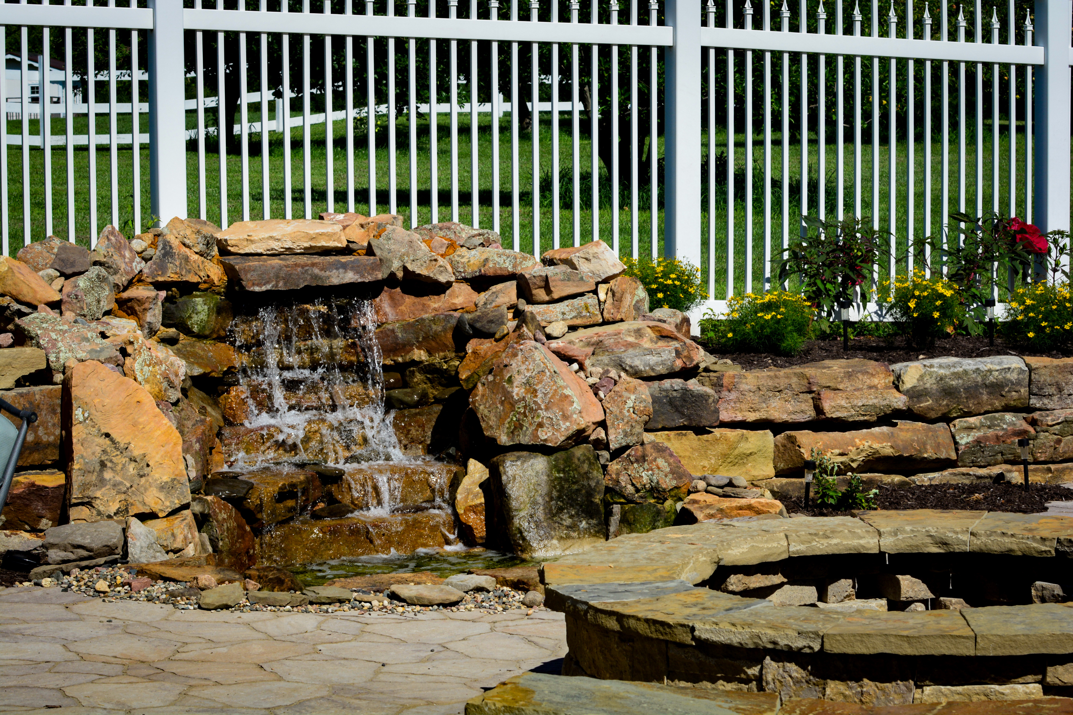 Water-Feature-in-front-of-fire