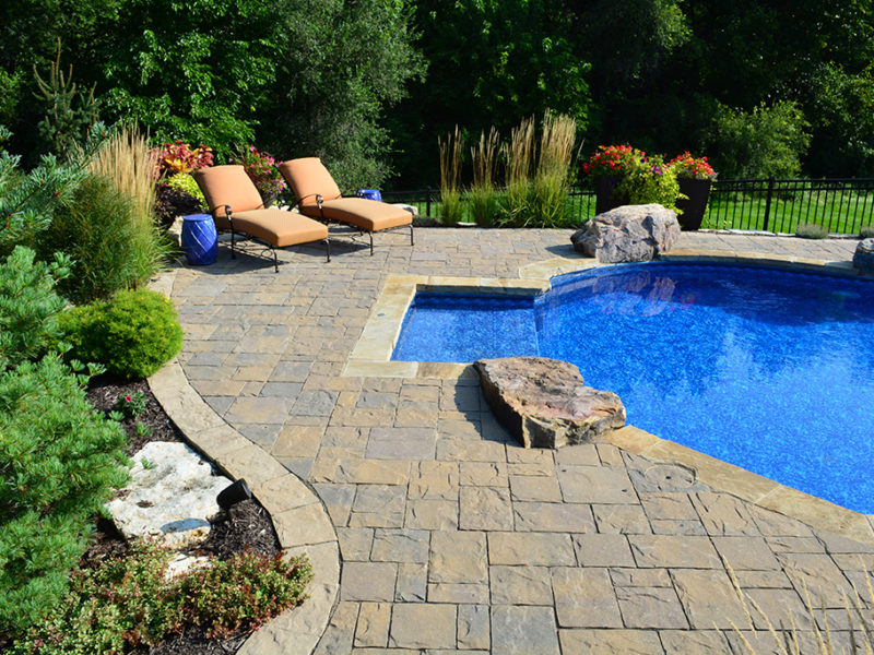 landscape pool design